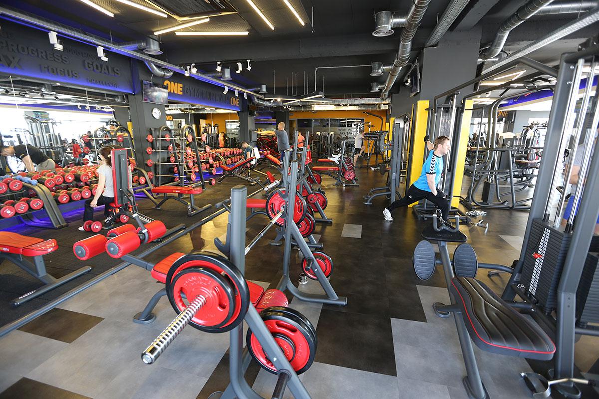 Tarkett LVT Galati gym RO