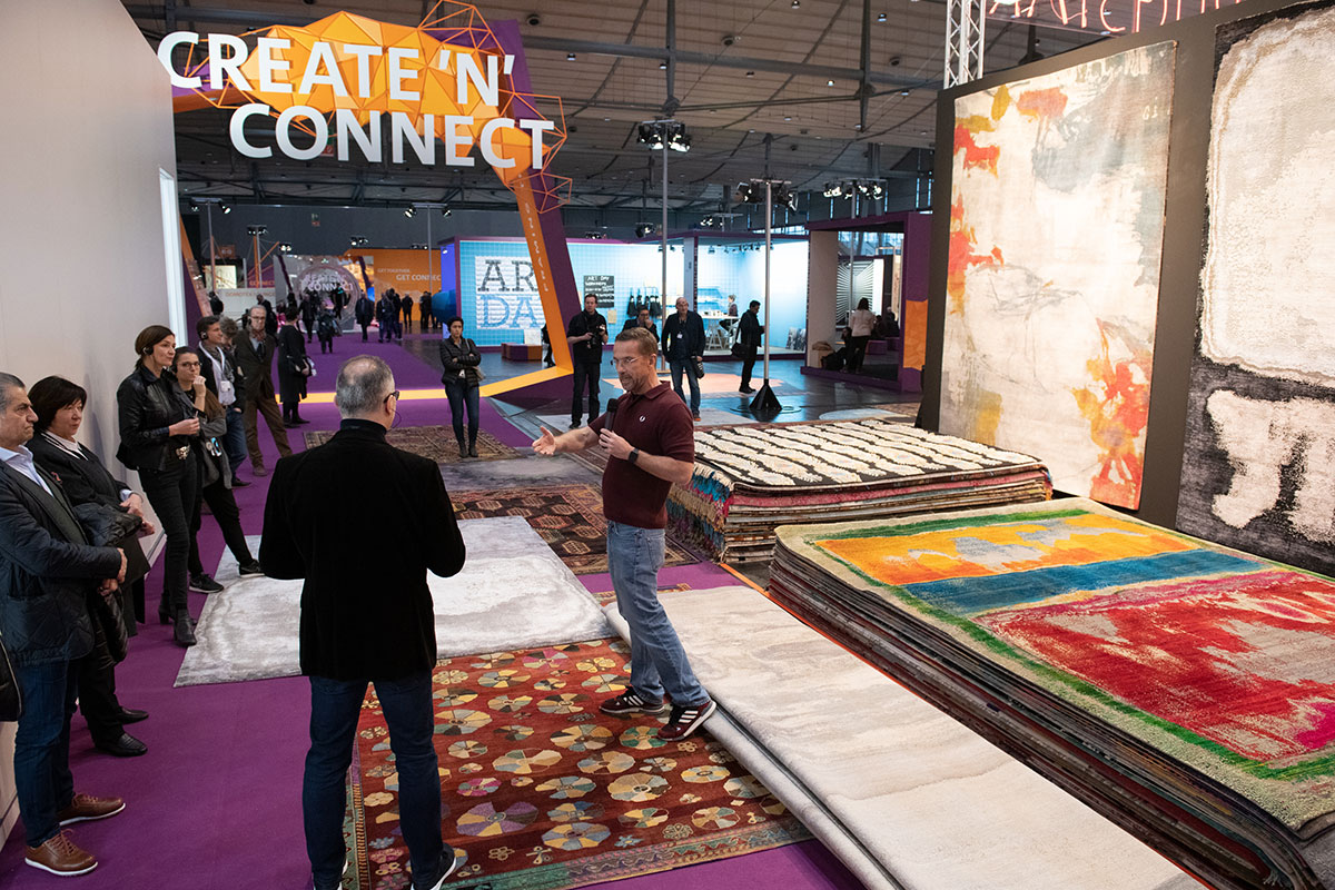 "Domotex 2019 - ""CREATE'N'CONNECT"""