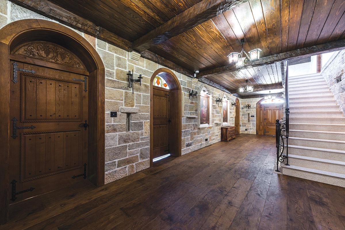 Magic Floor d.o.o., drveni podovi / projekat: Srpska kuća