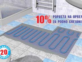 Rovex inženjering doo - 10% popusta na opremu za podno grejanje