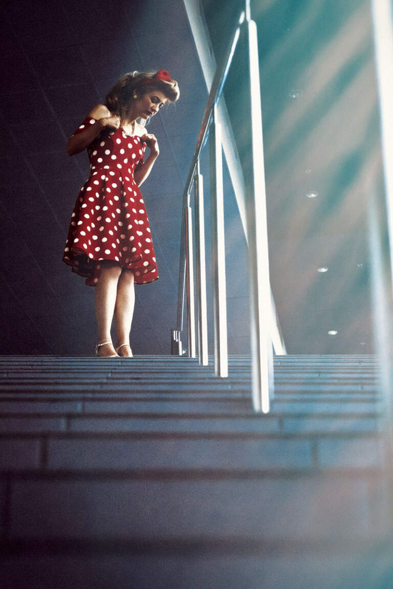Stepenište - teraco pod
