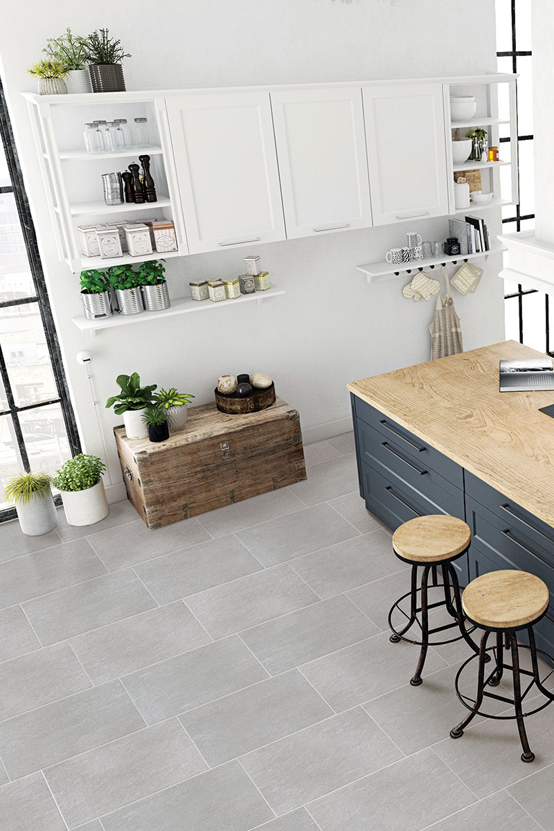 Podne keramičke pločice Mantova Grigio 30x60