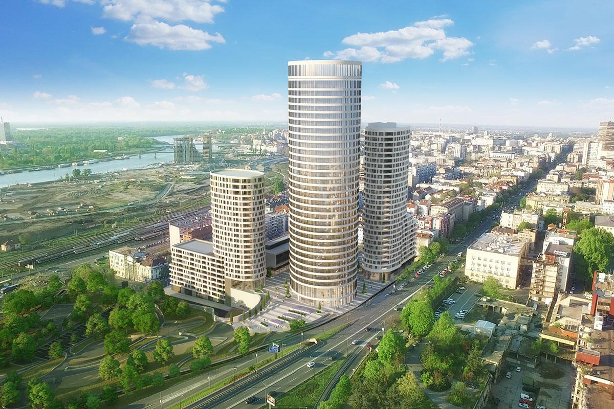 Skyline, Beograd