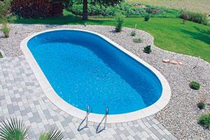Ovalni bazen od Styropoola