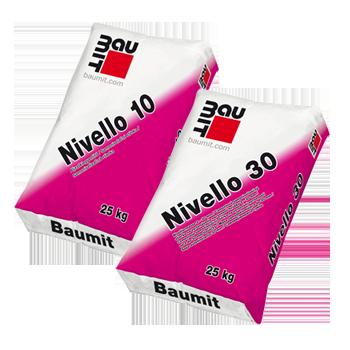 Baumit Samoizravnavajuće mase na cementnoj bazi Nivello 10 Nivello 30