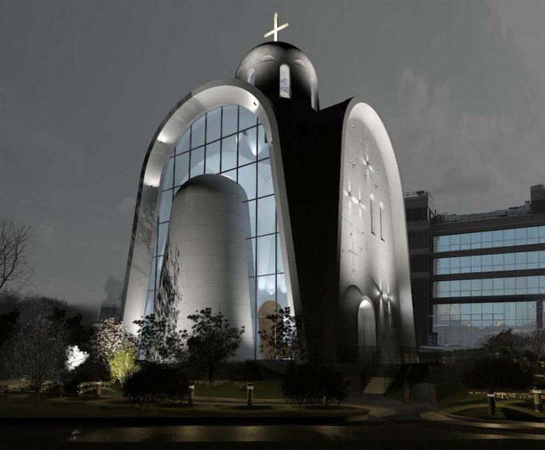 Projekat crkve u Moskvi
