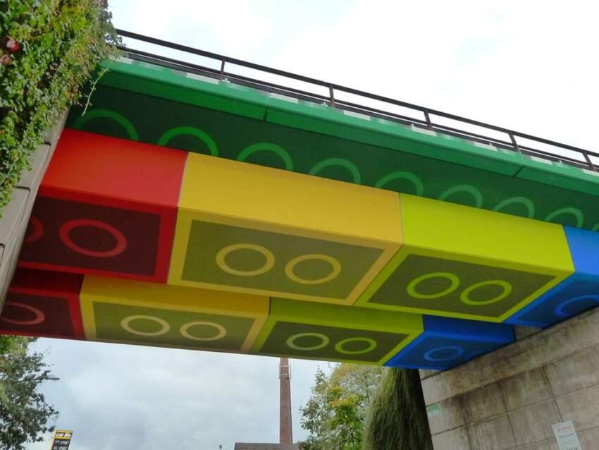 Most od lego kocki