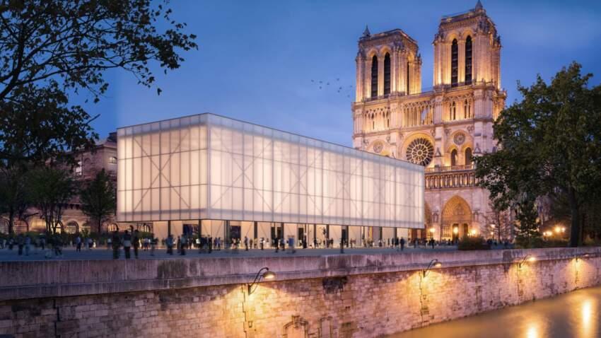 Notre Dame, privremeni objekat