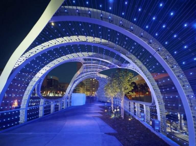 pešački most, Kalifornija