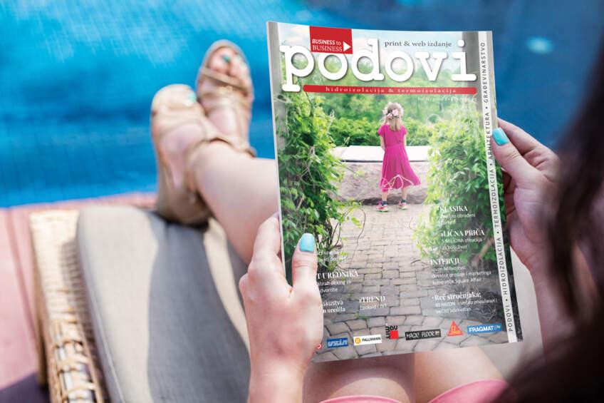 Časopis PODOVI - hidroizolacija i termoizolacija broj 44, avgust 2019