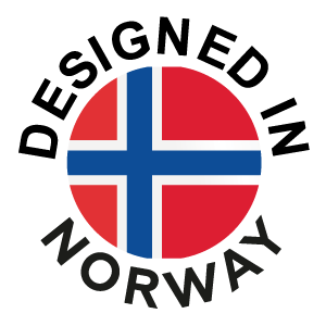 Designed in Norway logo