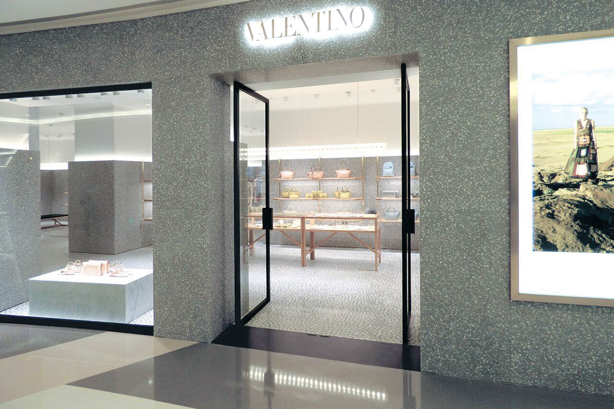 foto: Ilgrad doo - teraco podovi Valentino butik