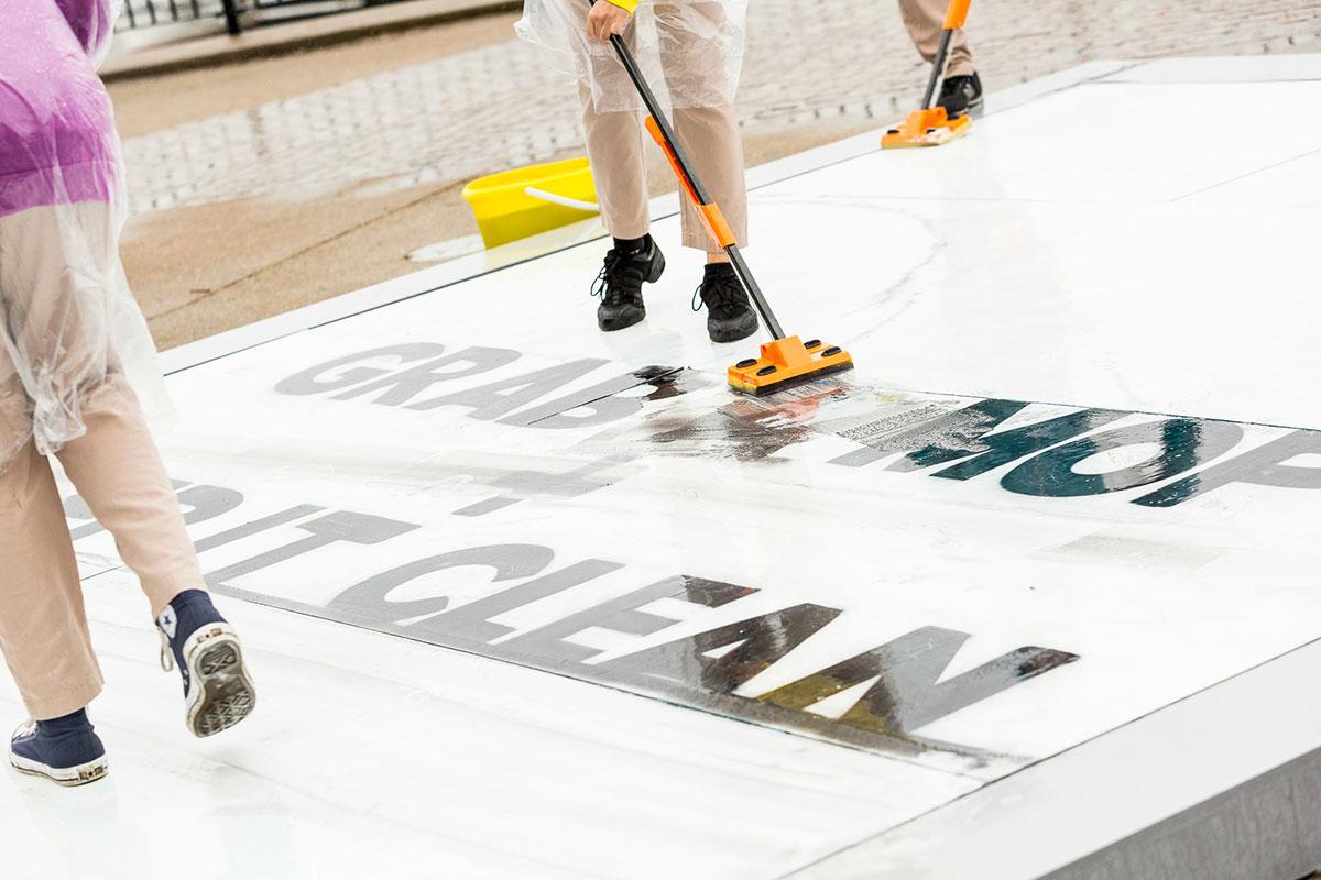 Čišćenje industrijskog poda