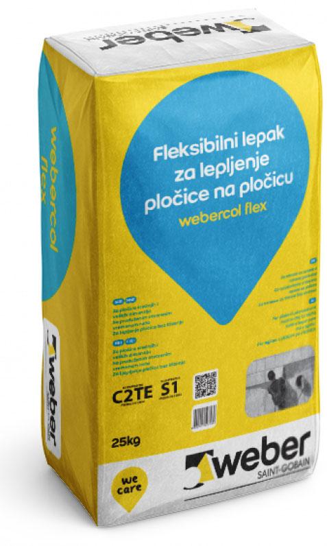 webercol flex fleksibilni lepak-za-lepljenje pločice na pločicu
