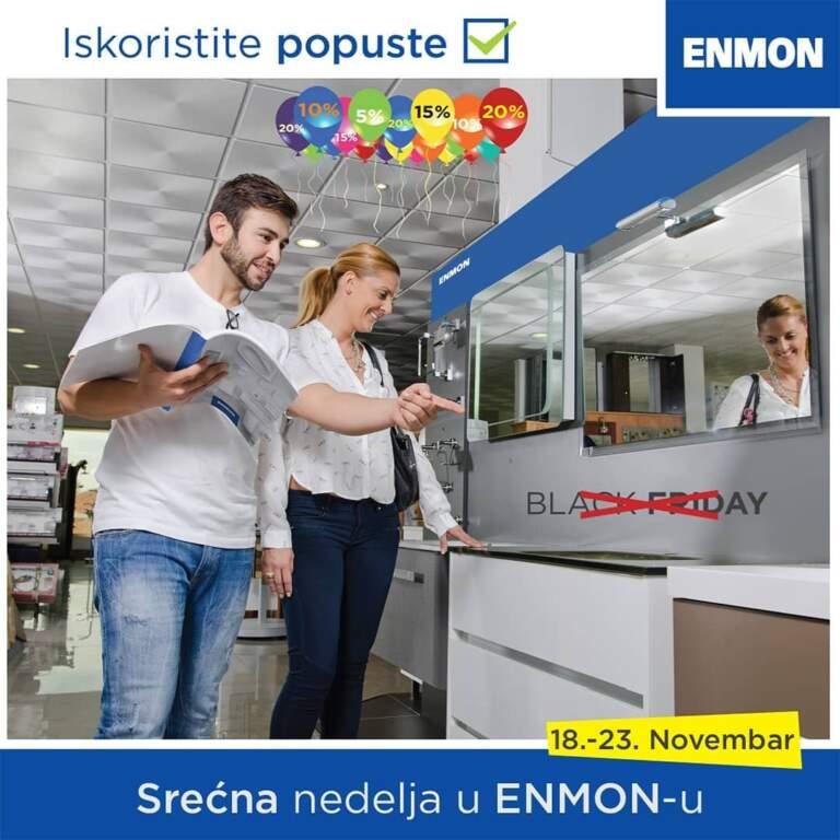 Srećna nedelja u Enmonu!