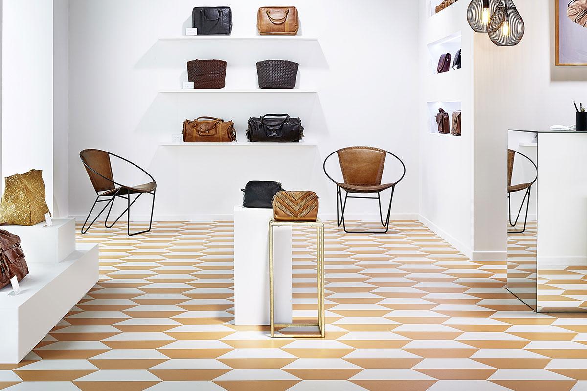 LVT podovi za prodavnicu ili butik, Mixonomi / foto: Tarkett
