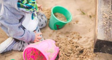 Dečije igralište, pesak
