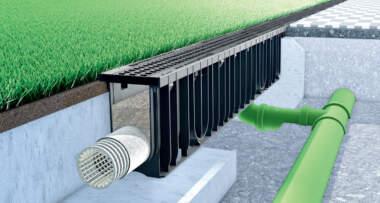 SPORTFIX® CLEAN - odvodnjavanje i prečišćavanje atmosferske vode sa sportskih terena i igrališta od veštačke trave