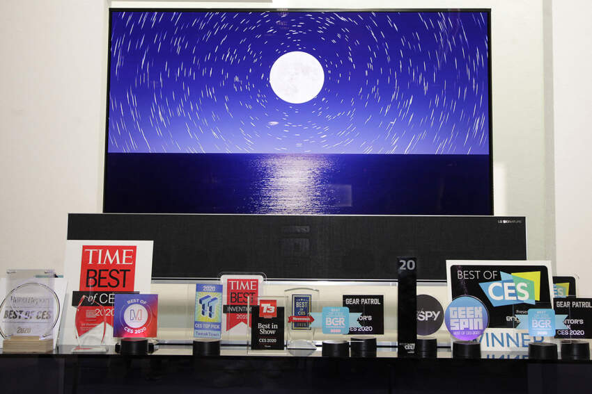 LG osvojio brojne nagrade na sajmu CES 2020