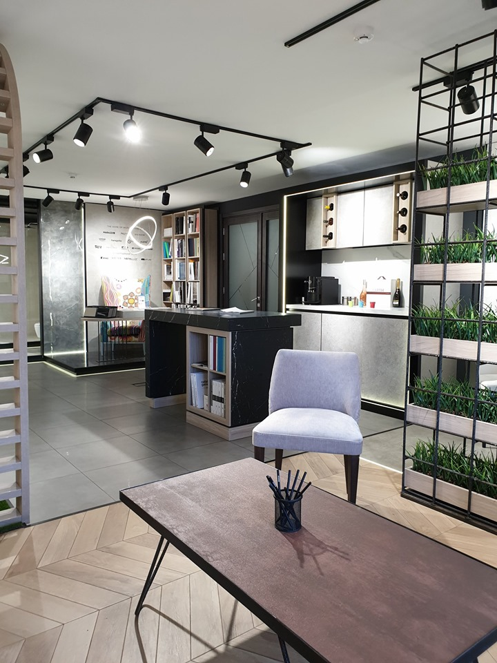 ENMON project, showroom