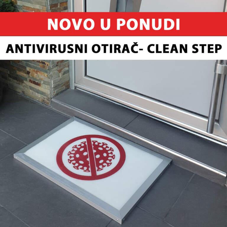 CLEAN STEP otirač za dezinfekciju obuće