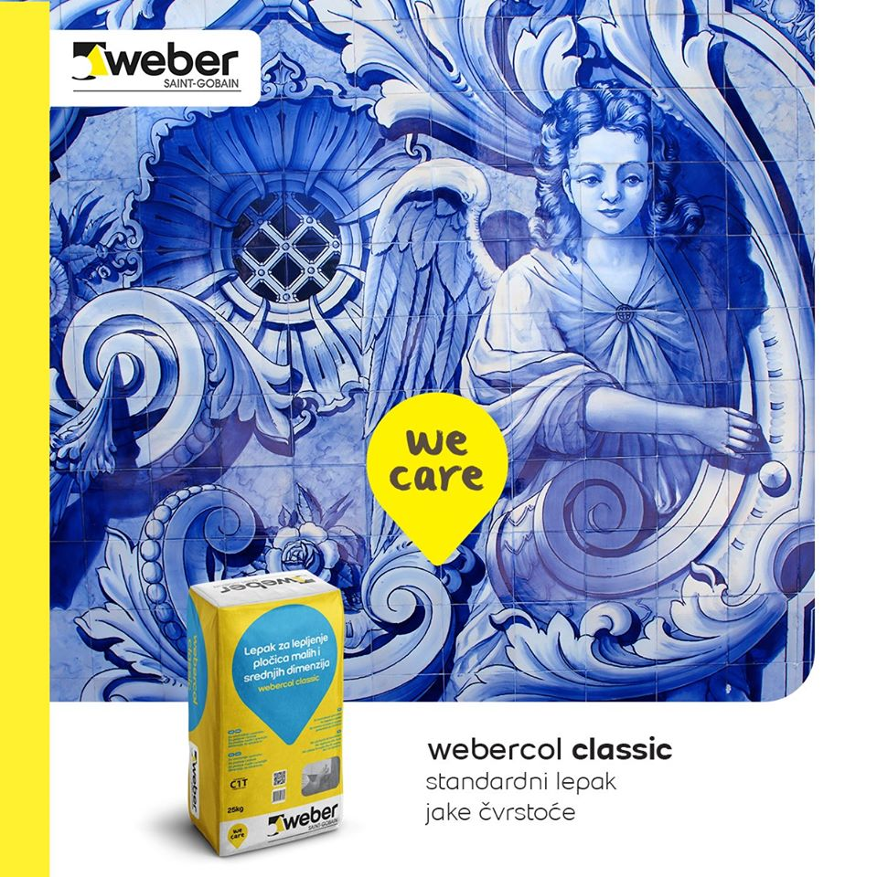 Webercol classic lepak za pločice