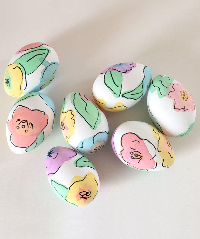 akvarel jaja