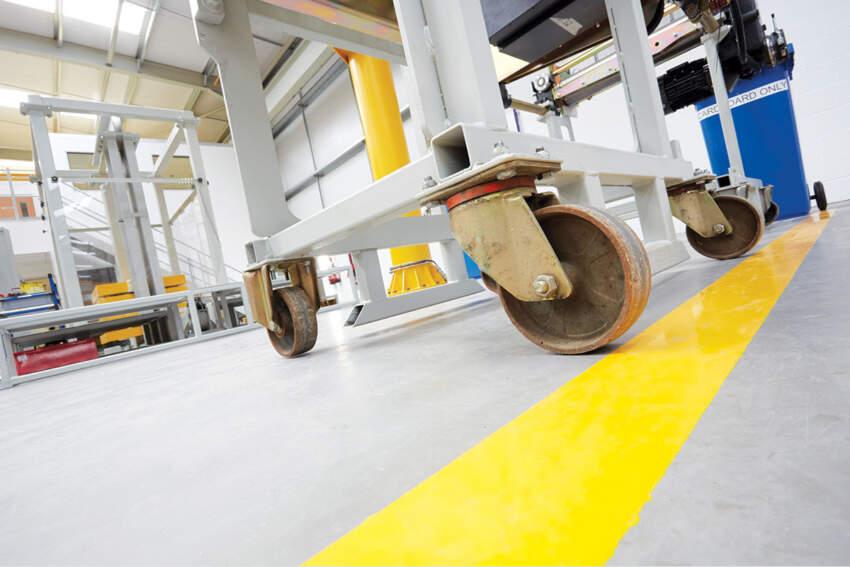 Industrijski podovi se postavljaju u svim tipovima industrijskih objekata