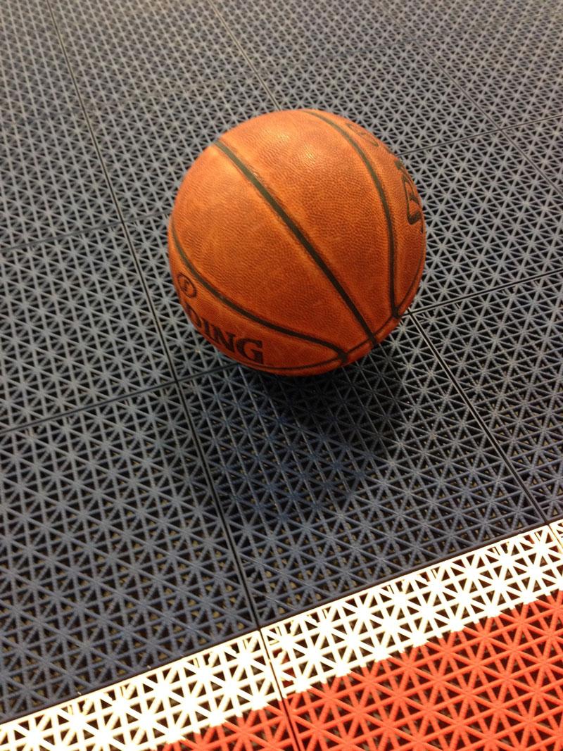 Ploče od polipropilena za košarkaški teren
