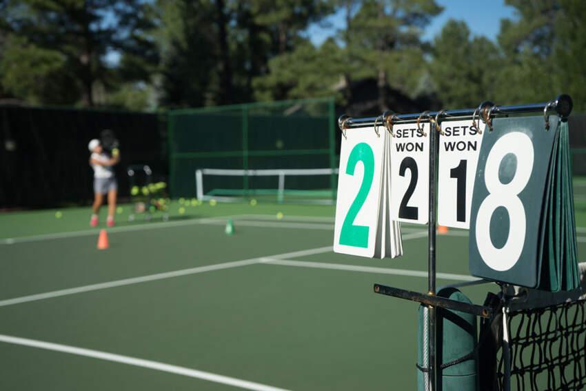 Polipropilenska podloga za teniski teren