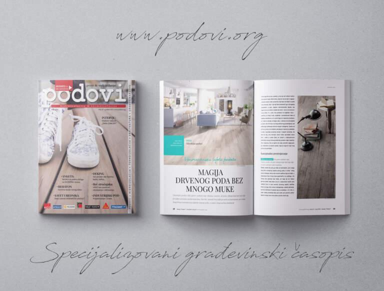 Časopis PODOVI - Hidroizolacija & Termoizolacija broj 47, maj 2020
