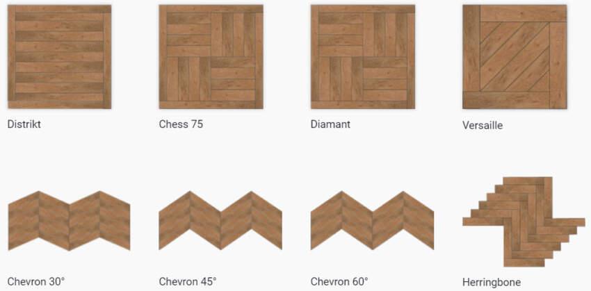 DIzajn slaganja podova