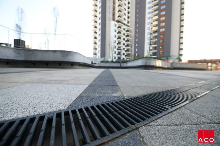 ACO rešenje za odvodnjavanje Belgrade Waterfront