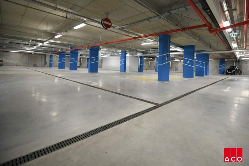 ACO separatori lakih naftnih derivata ACO Oleopator-P i ACO Coalisator garazni separator za garaze Belgrade Waterfront-a