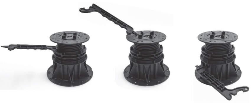 Impertek držači daju mogućnost milimetarskoj regulaciji konačne visine poda