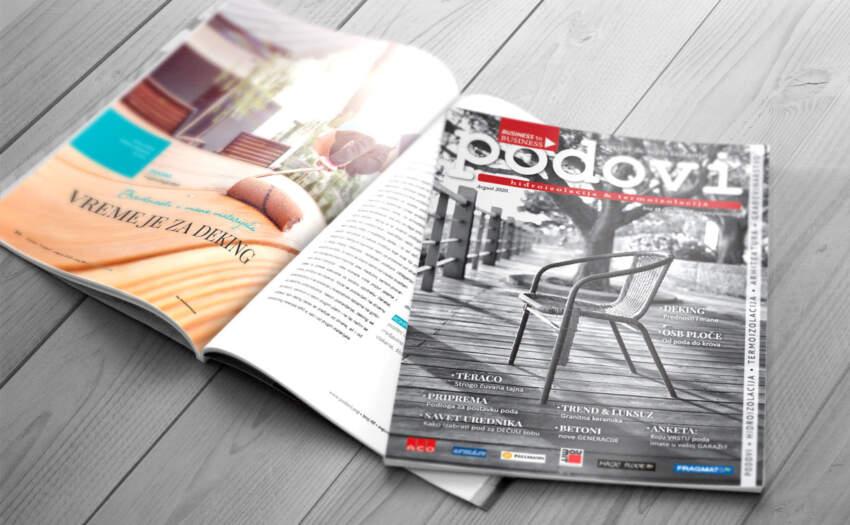 Časopis PODOVI - Hidroizolacija & Termoizolacija broj 48, avgust 2020