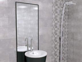 Zorka Keramika doo / Serija: Persia Bianco&Grigio 25x75 cm