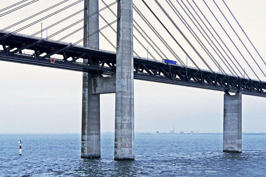 Najduži drumsko-železnički most na svetu, koji prelazi preko Oresundskog moreuza i spaja Švedsku i Dansku