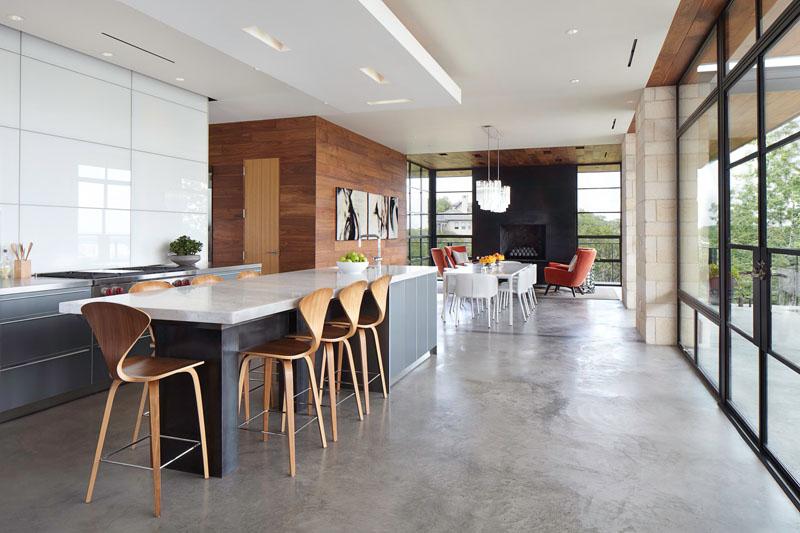 Betonski pod u kuhinji
