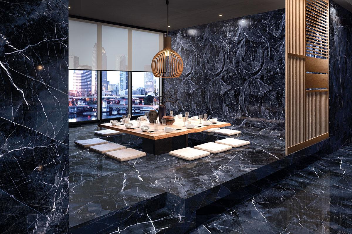 Mermer je oduvek korišćen da poveže prostor gde se harmonično stapaju elegancija i snaga arhitekture.