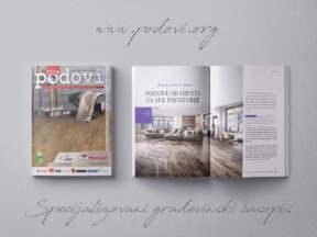 Časopis PODOVI - Hidroizolacija & Termoizolacija broj 49, novembar 2020