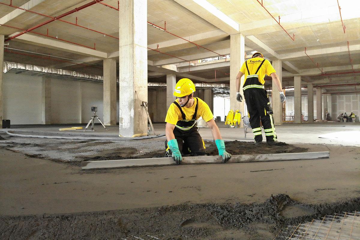 foto: LaFarge / Mašinska izrada cementne košuljice