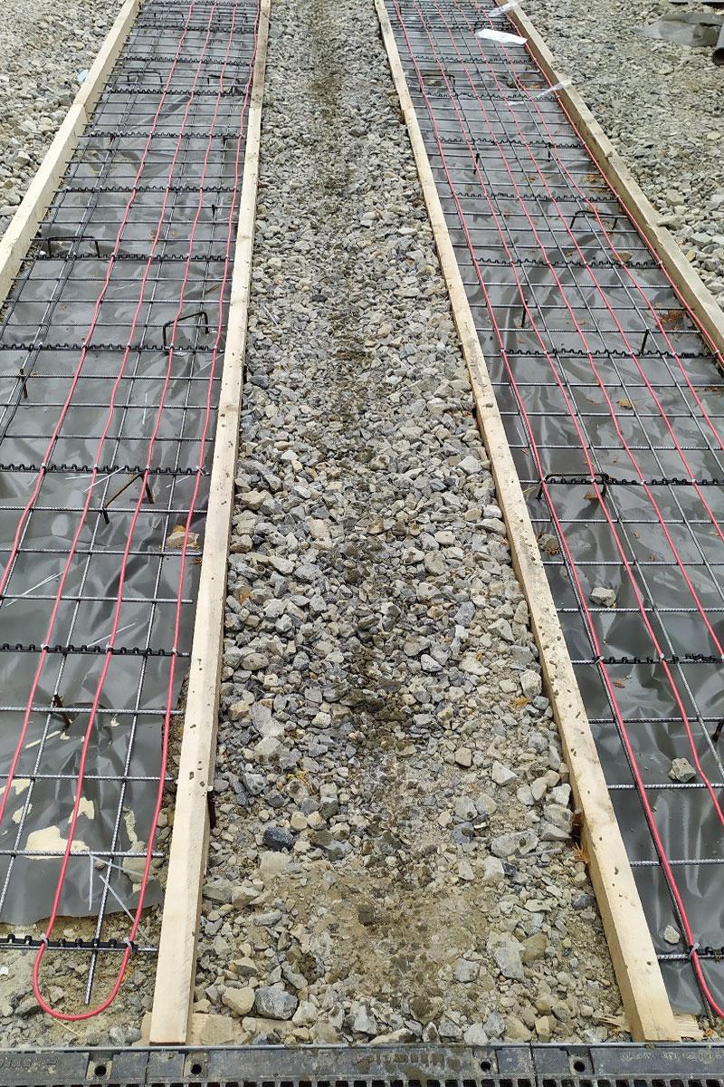 foto: Enerset doo / postavka grejnih kablova za otapanje snega i leda