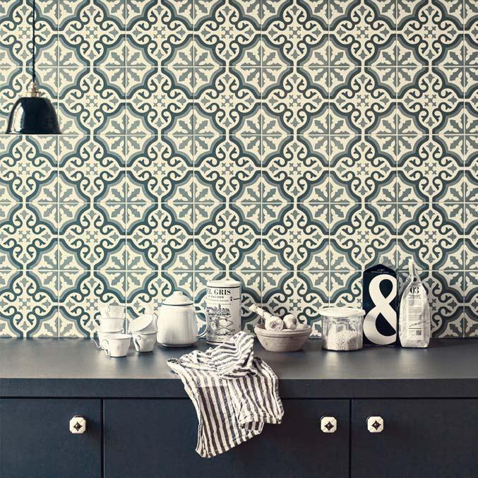 Keramičke pločice malog formata u dnevnoj sobi