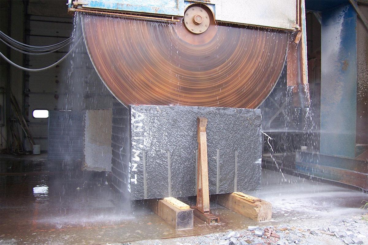 Sečenje granita