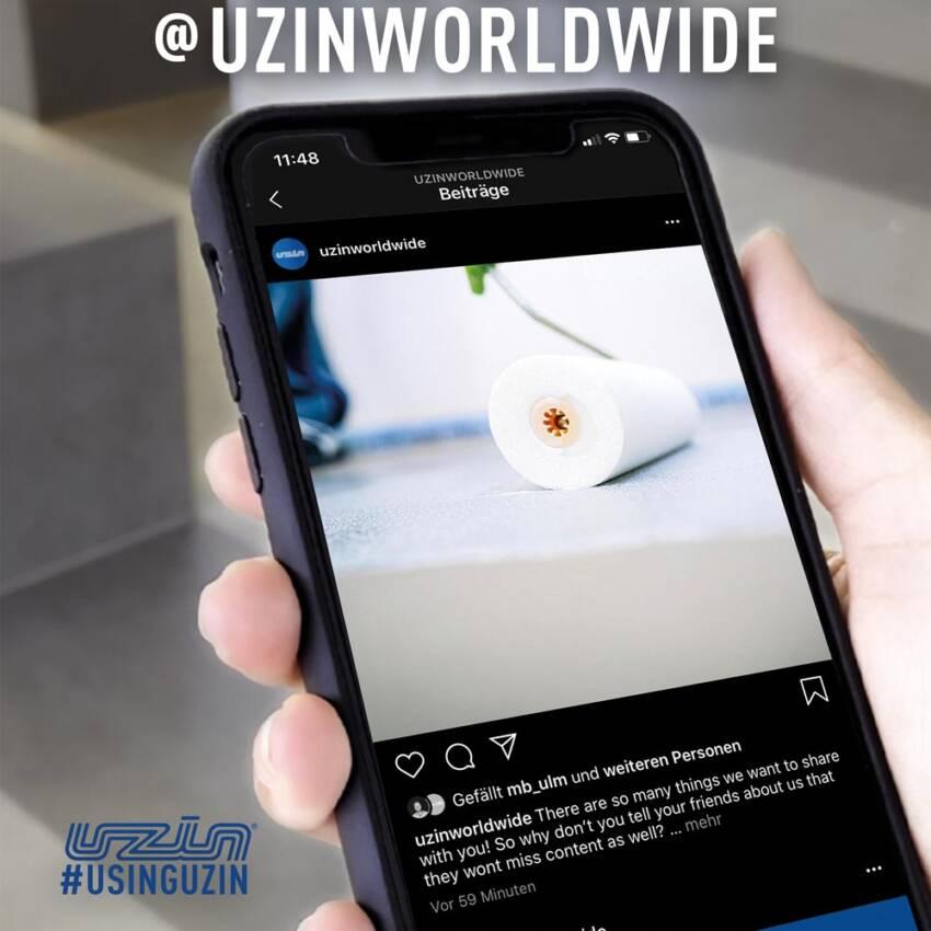 Brend Uzin dalje proširuje svoje digitalno prisustvo svojim novim Instagram kanalom