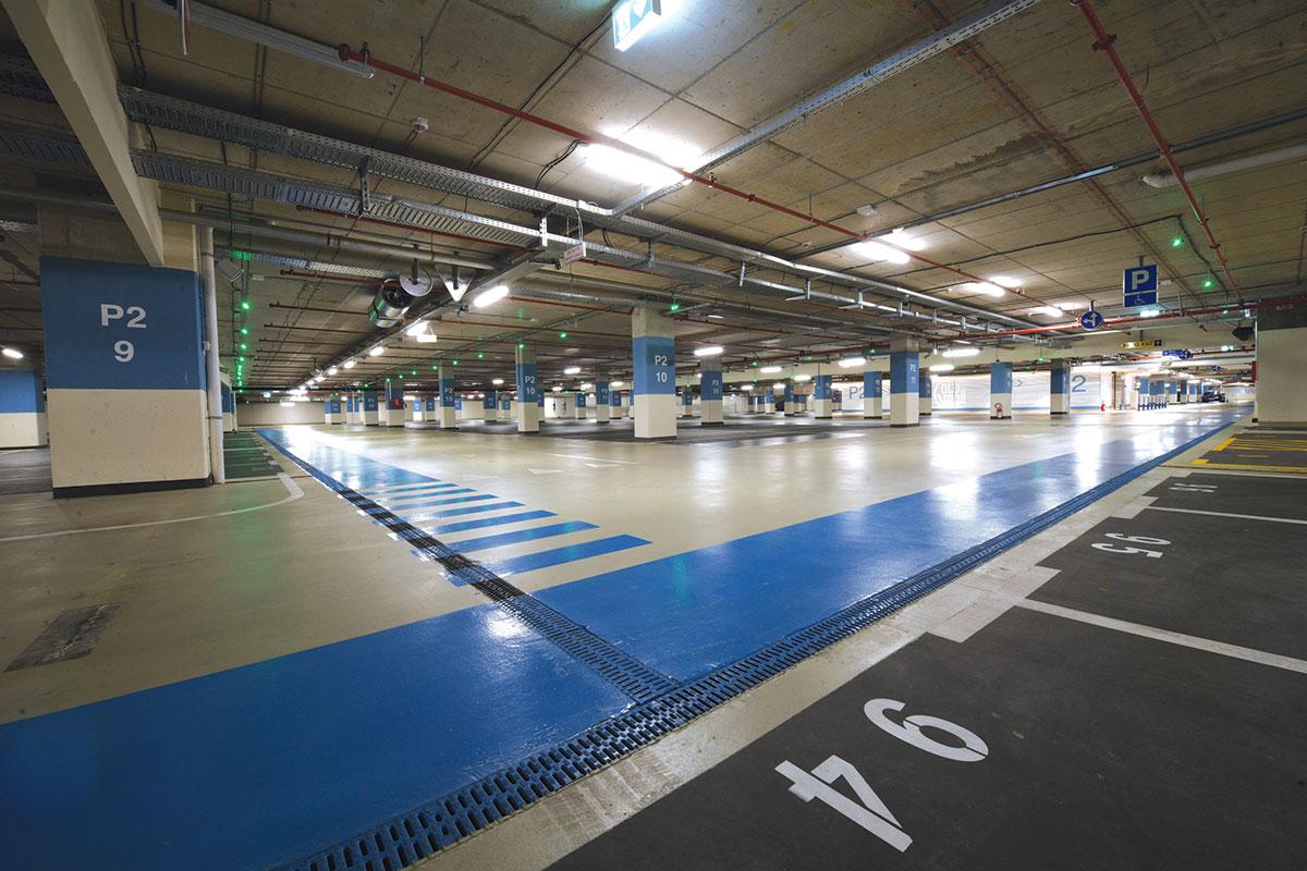ACO Ada Mall odvodnjavanje u podzeminm garažama