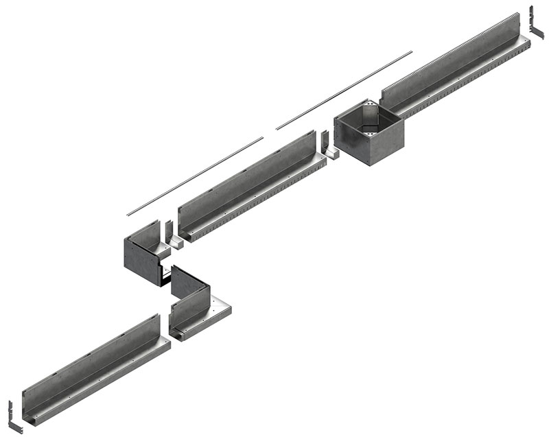 Celi sistem SLOT/ŠLIC kanala
