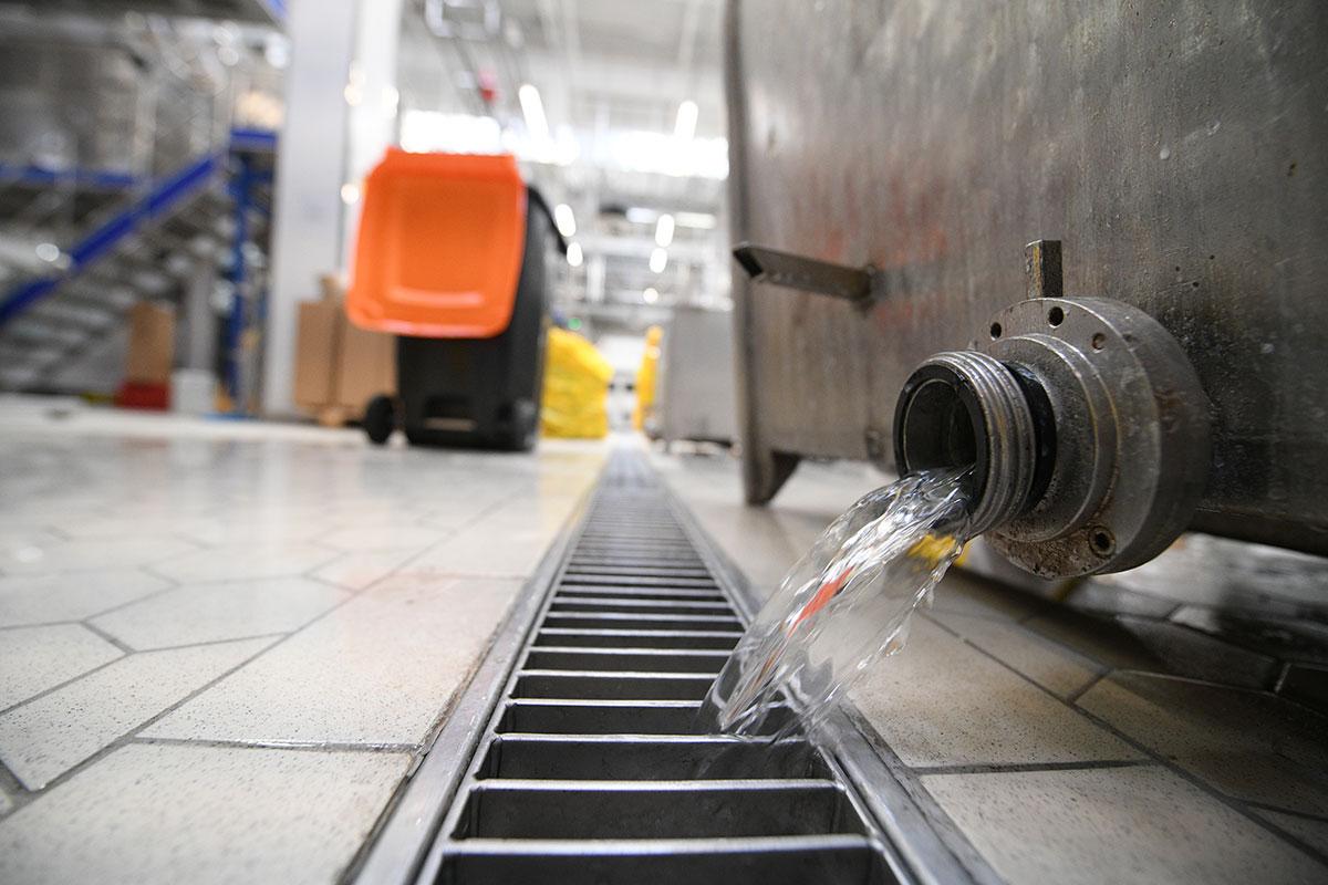 ACO - Imlek postrojenje za sterilizaciju sa ACO inox kanalima