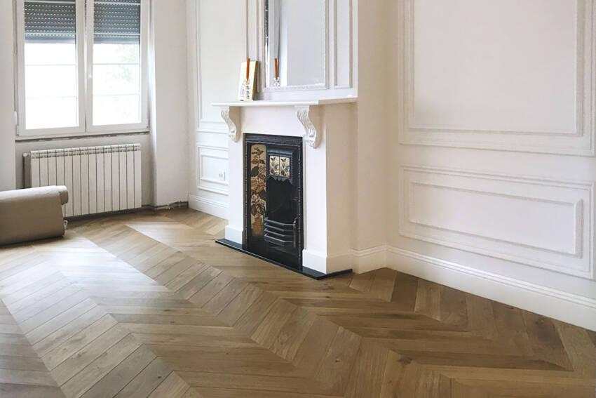 Drveni podovi - završna obrada ulje / foto: Magic Floor